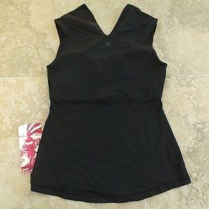 lululemon athletica Tops - Lululemon Alluring Tank black workout top size 6